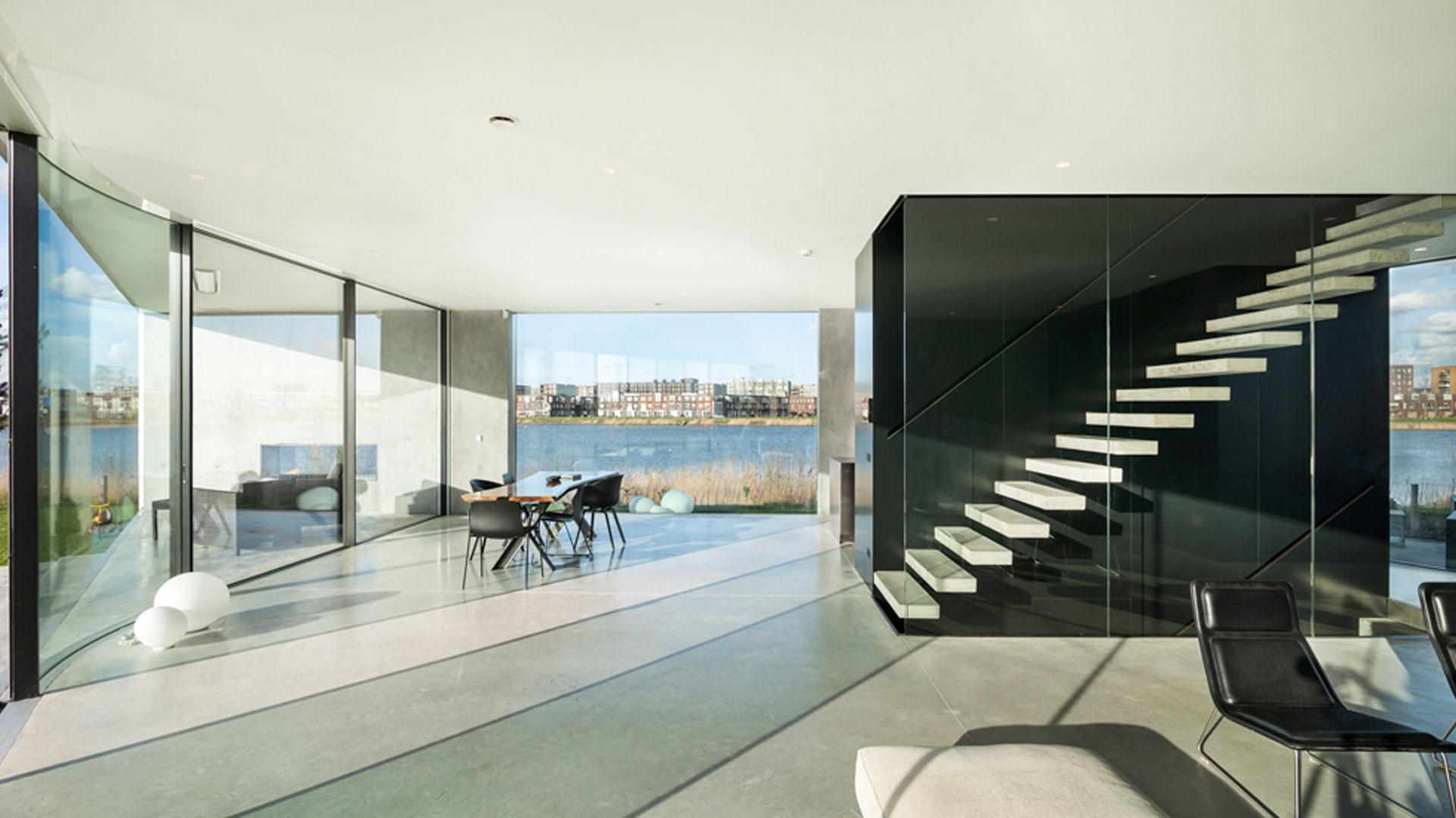 Villa op IJburg Amsterdam