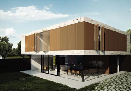 Nieuwe villa